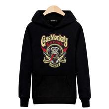 Fashion Gas Monkey Hooded New Hoodies Men Brand Designer Mens Sweatshirt Men in Hooded Sweatshirt Men 3xl Black/Gray XXS