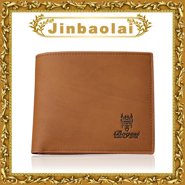 New luxury bogesi brands mens wallets with clip for coins mens leather wallets for money and cards purses(China (Mainland))