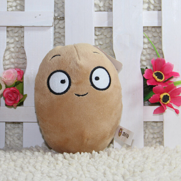 Plants VS Zombies Wall-nut Soft Plush Toy Doll