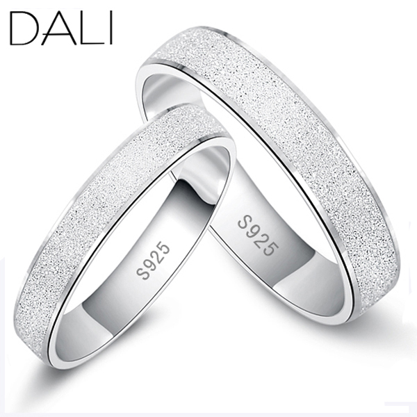 Гаджет  2014 New Arrival,Silver Frosted Couple Ring,925 Sterling Silver Materail,Wedding Ring For Men and Women None Ювелирные изделия и часы