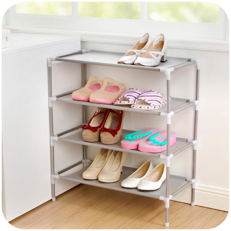 Non-Woven Fabric Shoe Rack Organizer Storage Bench Organizer Your Closet Cabinet or Entryway Shoe Cabinet Shelf Shoe Holder(China (Mainland))