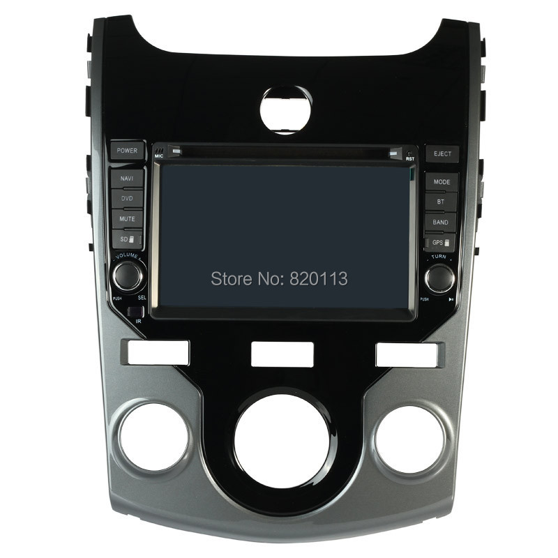MC Two Din 8 Inch Car DVD Player For KIA CERATO 2008 2009 2010 2011 2012 SHUMA FORTE KOUP Rear View Camera GPS BT IPOD TV(China (Mainland))