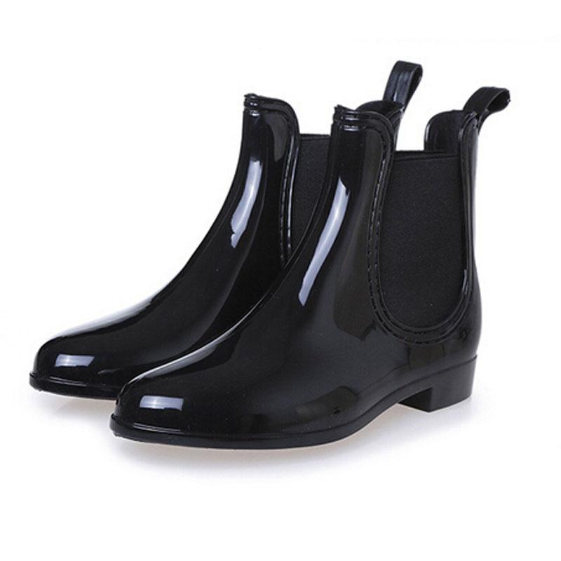 Fantastic Le Chameau Low Boot Womens Slip On Rubber Wellington Boots Shoes Green