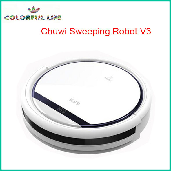 Chuwi Ilife V3 Beatles Robot Vacuum Cleaner Self Charge Smart Dust Cleaner Planned clean route automatic Mute home(China (Mainland))
