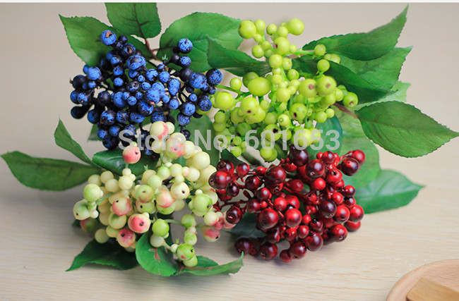 Small Fruit Decoration High Simulation Artificial Fruit berry DF-34(China (Mainland))