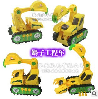 toy cars for boys Large deformation of fully automatic scorpion truck electric vehicle toy car(China (Mainland))