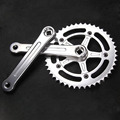 Cycling 46T Crankset Vintage Fixed Gear Bike 2015 aluminium alloy Bicycle chainwheel LASCO FG03 road bike