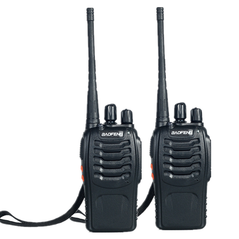 Гаджет  2 PCS Baofeng BF-888S Walkie Talkie  5W Handheld Pofung bf 888s for UHF VHF 5W 400-470MHz 16CH Two-way Radio  None Телефоны и Телекоммуникации