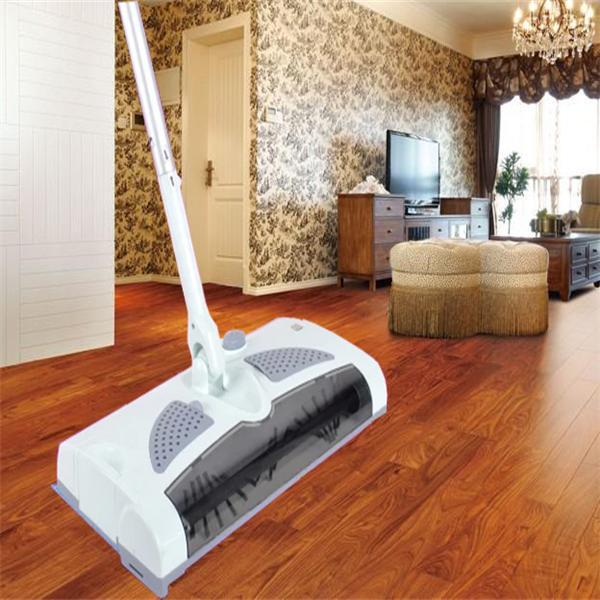 Household wireless electric mop sweeping machine hand push sweeping machine cleaning machine robot cleaner(China (Mainland))