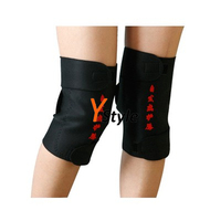 Free Shipping 1 Pair Tourmaline Self-heating Knees Pad Spontaneous Heating Massage Belt for Knees Tourmaline Protector for Knees