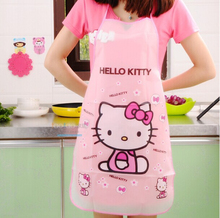 2016 Promotion Special Offer Apron Kit Bib Apron Cartoon  Long Sleeve Cuff Waterproof Aprons Gowns Suits For Men And Women(China (Mainland))