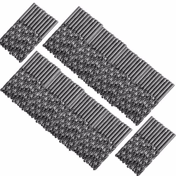 100PCS HSS High Speed Steel Twist Drill Bit Set 1mm-5mm (1mm/2mm/3mm/4mm/5mm)<br><br>Aliexpress