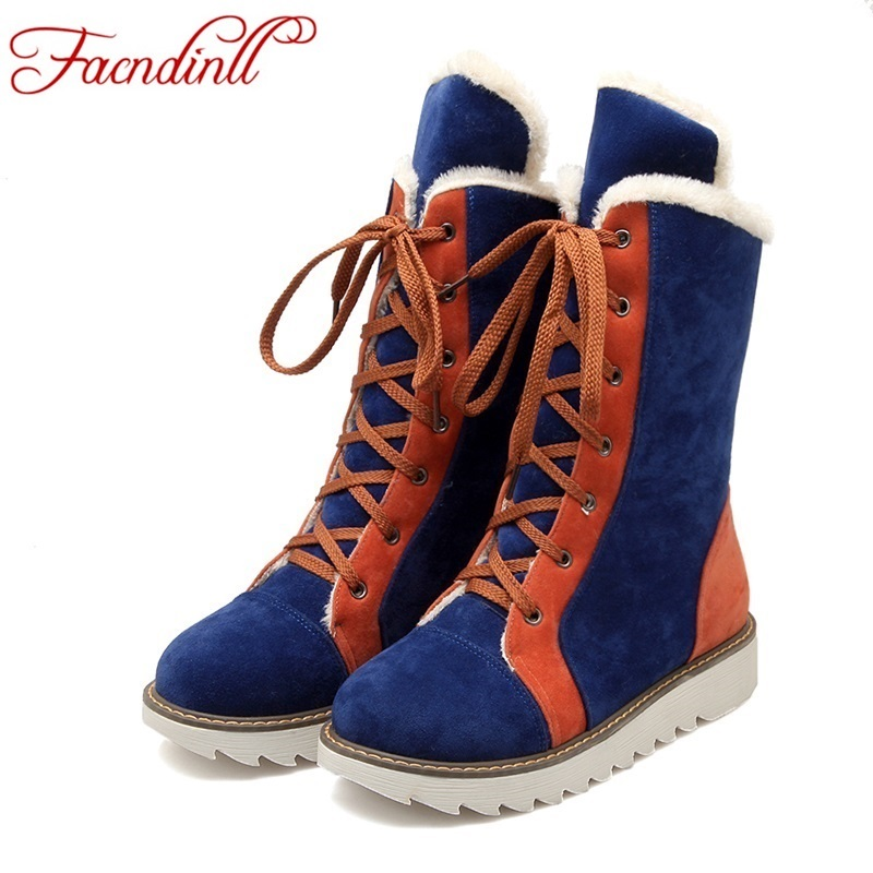 Online Get Cheap Women Snow Boots Size 11 Lace up -Aliexpress.com ...