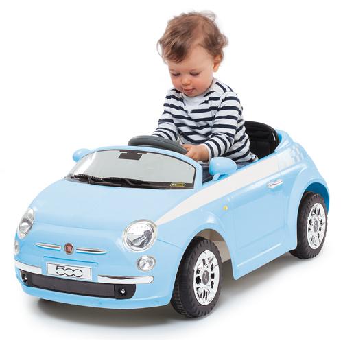 Kids Ride On Electric Cars Fiat 500 1 4 Wheel Motorized