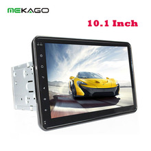 10.1 Inch 1024*600 Android 4.4 Quad Core 2 DIN Car Audio Stereo Radio Head Unit GPS Navigation BT + WIFI No-DVD Mp3 Player