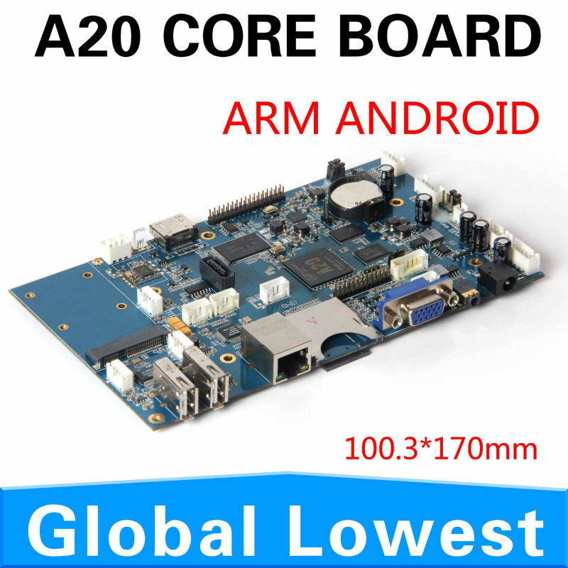 Wholesale 100% Tested brand new A20 integrated motherboard mainboard systemboard DDR3 1G support<br><br>Aliexpress