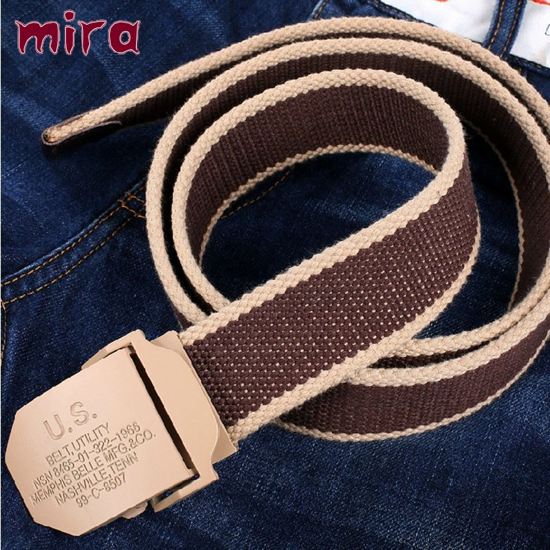 2016 free Cinto Feminino Selling Striped Adult Cintos Femininos Belts Men Belt Man Canvas Lengthen Strap Personality Male Nylon(China (Mainland))