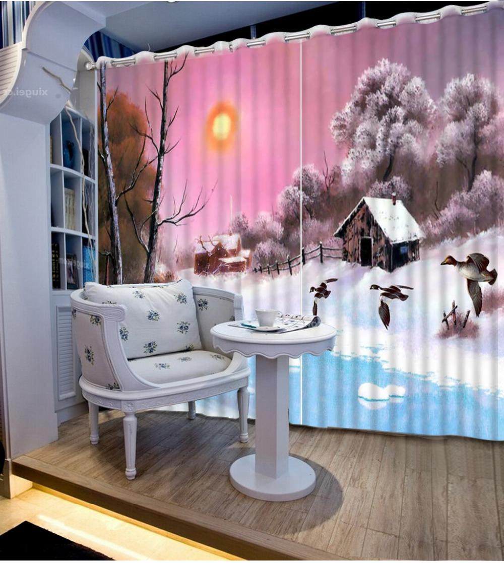 achetez en gros hiver rideaux en ligne des grossistes hiver rideaux chinois. Black Bedroom Furniture Sets. Home Design Ideas