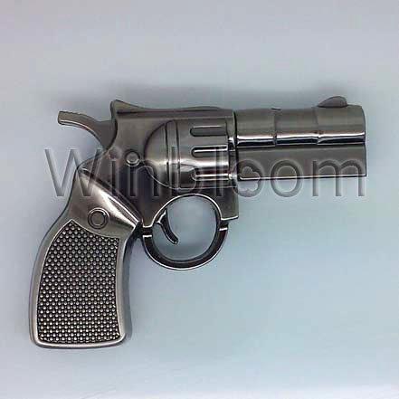 Pistol USB Memory Stick 4GB 8GB 16GB 32GB Real Capacity Revolver Pen Drive SU0018