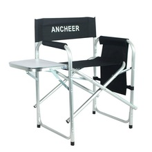 ANCHEER Outdoor Recreation Director's Chair Portable Folding Fishing Chair With Side Table for Camping Hiking Fishing(China (Mainland))