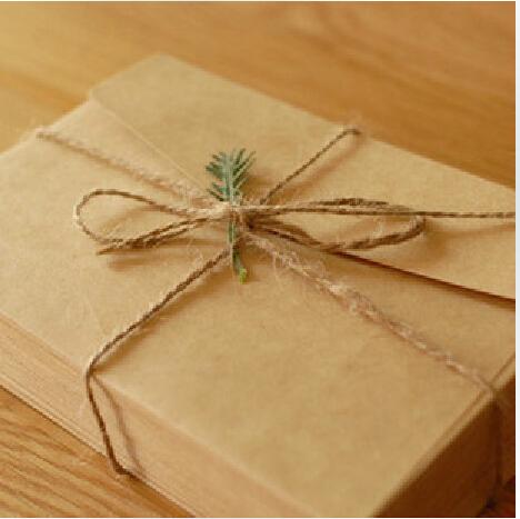 US$2 off for single order US$12      160*110mm New Cute Vintage Kraft paper envelope wedding gift envelopes(China (Mainland))