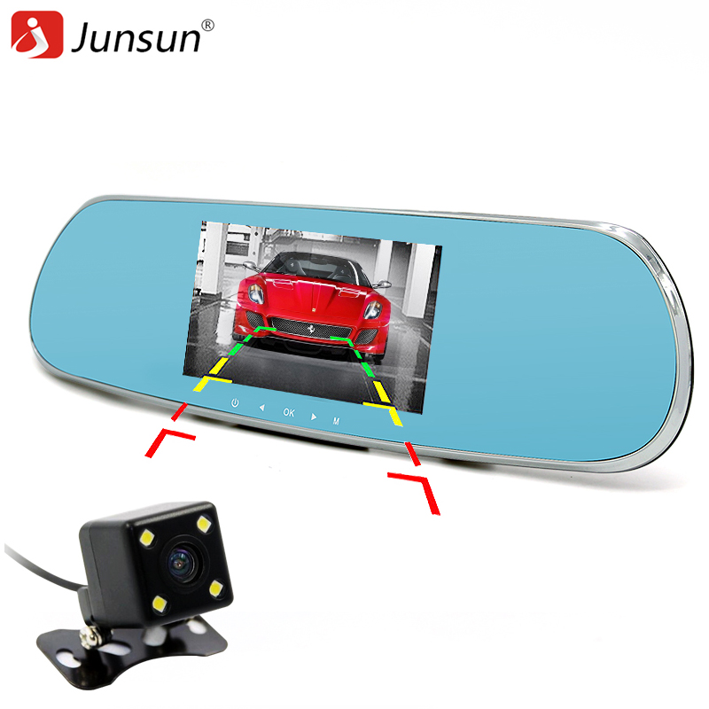 Junsun 5 inch Car GPS Rearview Mirror Android Navigation Sat nav Allwinner A33 Quad-core Free map Navitel 9.5 or full Europe map(China (Mainland))