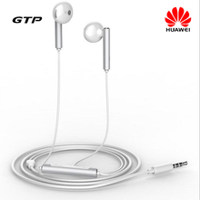 Original Honor AM116 3.5mm In-ear Mic Voice Control Headset for Android iOS iPhone Samsung LG Xiaomi Huawei P8 Mate 7 Honor 6