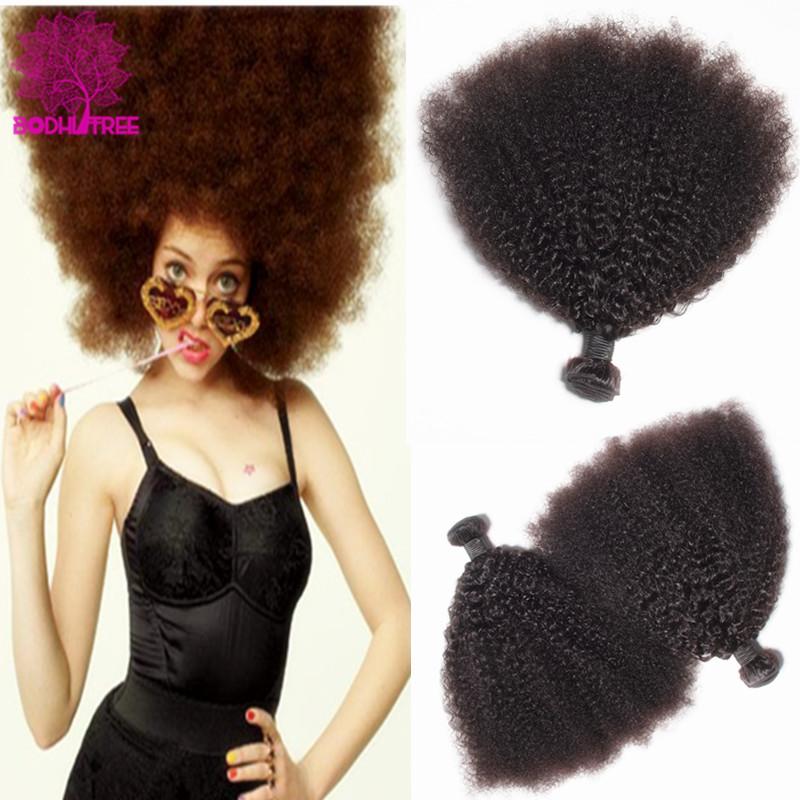 Mongolian Kinky Curly Virgin Hair Extensions 7A Grade Mongolian Afro Kinky Curly Hair 3Pcs Coarse Yaki Curl Human Hair Weave