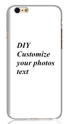 Custom LOGO Design Photo Hard Back Cover Custom Printed Phone Case DIY Gift for iphone 6 plus 5.5 inch(China (Mainland))
