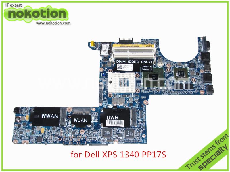 laptop motherboard for dell XPS 1340 PP17S DA0IM3MBAG0 REV G CN-0K184D K184D Nvidia GeForce 9200M DDR3<br><br>Aliexpress