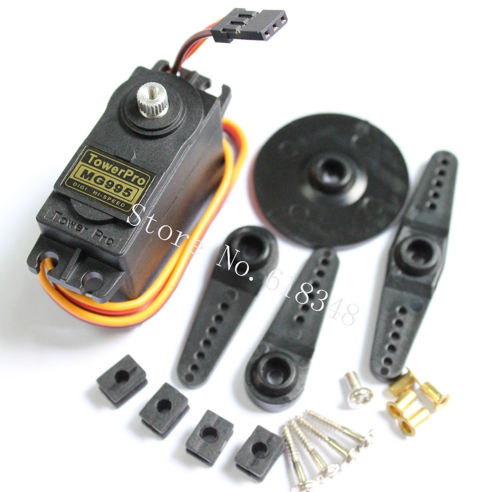 100 genuine towerpro mg995 digital steering servo motor for High speed servo motor