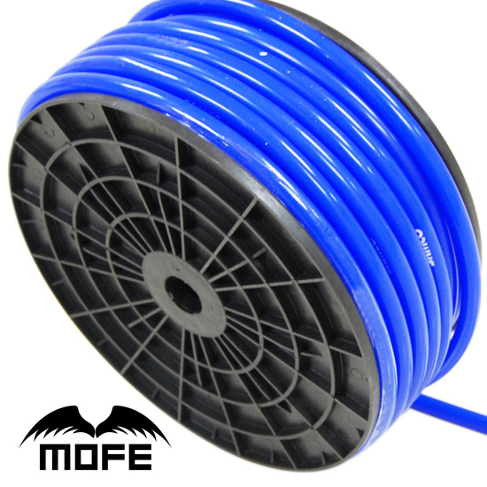 MOFE Car Auto 100% Silicone material Blue 10M Silicone 4MM Vacuum Hose(China (Mainland))