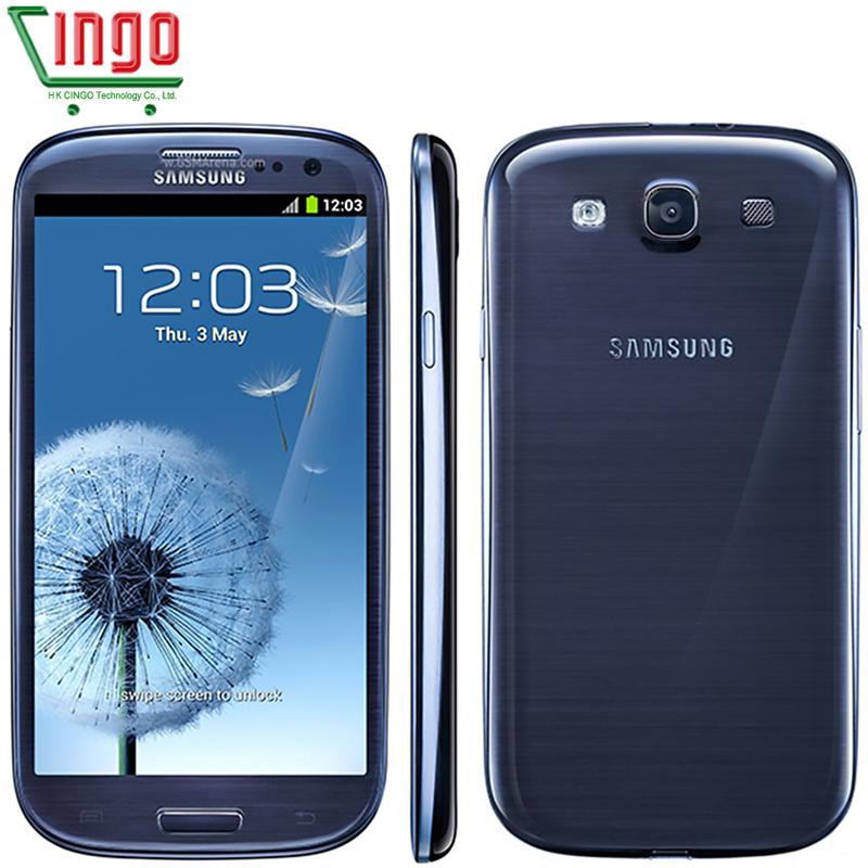 Original Cell phone Samsung Galaxy S3 i9300 Quad Core 8MP Camera NFC 4.8'' GPS Wifi 3G Unlocked Phone Add 2 Free gifts(China (Mainland))