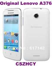 Lenovo A376 Original Unlocked Smart Mobile phone 4Inches Wifi China Brand DHL EMS Free shinpping