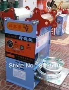 manual boba tea sealing machine for production of bubble boba tea bowl sealer can seal 120mm and 170mm(China (Mainland))