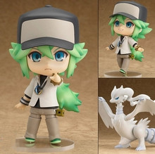 Pokemon Action Figure 537# Nendoroid Cynthia PVC Figure Pokemon Shirona Model Toy Japanese Anime Pokemon Cynthia Figures