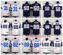 100% Stitiched,High quality,Dallas Cowboys Byron Jones Sean Lee Jason Witten Dez Bryant for mens(China (Mainland))