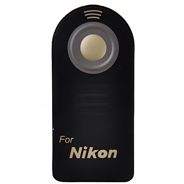 IR Remote Control for Nikon D70, D60, D50, D40X, D40 as ML-L3 (Black)(China (Mainland))