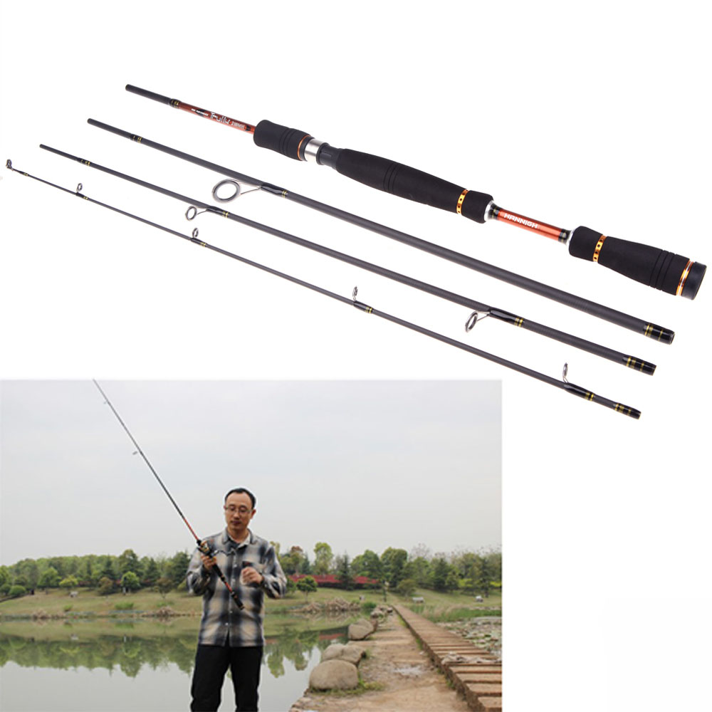2.4M 7.87FT Carbon Fiber Portable Sea River Fly Fishing Pole Spinning Lure Rod Fishing Tackle Tool for Outdoor Sports(China (Mainland))