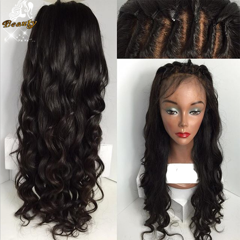 Фотография 7A Brazilian deep body wave wigs Glueless Full lace Human Hair Wig For Black Women Lace Front Wigs With Baby Hair Full Lace Wigs