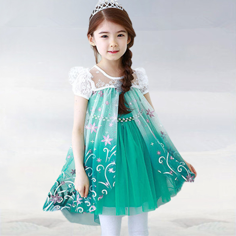 2015 now girls lace stitching chiffon T-shirt + leggings, suitable for the lovely princess baby girl suits ,Children's clothes,(China (Mainland))