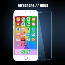 50pcs Explosion Proof Screen Protector Tempered glass 9H 2.5D For Iphone 7 / 7plus / 6 / 6 plus / 5s 5se / 4 4s Protective Film