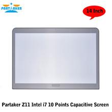 Причастником 10 Баллов Емкостный Сенсорный Экран Компьютера Все В Одном С Intel Core I7(China (Mainland))