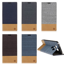 Fashion canvas Style Cover for Huawei Honor 5X Case Flip Card Holder Phone Cases With Stand Function phone Accessories
