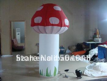 inflatable model lighting mushrooms for party decoration