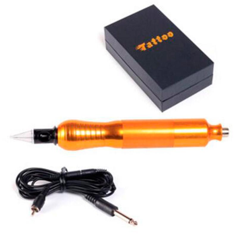Hot!! Tattoo Pen Type Tattoo Machine and Professional Eyebrow Tattoo Pen Kit Permanent Makeup Body Art Make up Equipment(China (Mainland))