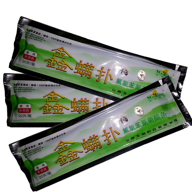 1 Package Bee Beekeeping Pest Control Flumethrin Killing Against 99.9% Mite(China (Mainland))
