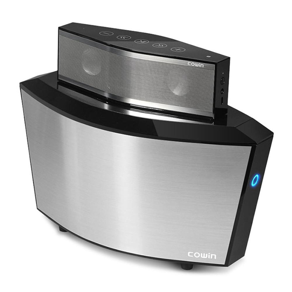 Cowin Magic  II  Bluetooth Speaker wifi Subwoofer Wireless Microphone NFC Speaker 25W Powerful Touch Speaker 1500 mAh Battery<br><br>Aliexpress