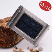 16 LED Solar New Generation LederTEK Outdoor Solar Powered PIR Motion Sensor Light Wall lights Security lights For Garden Des(China (Mainland))