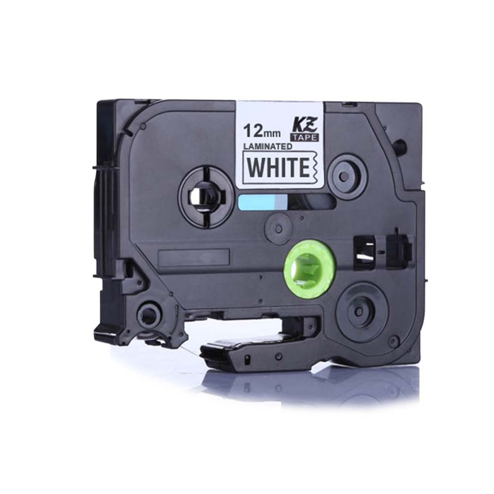 YOKO 25pcs TZe231 Compatible Label Tape for Brother Tze-231 TZ-231 TZ231 Black on White (0.47inch 1/2inch 12mm) 8m<br><br>Aliexpress